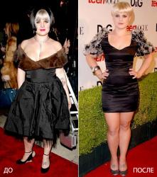 Келли Осборн: до и после похудения