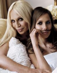 Донателла Версаче и дочь