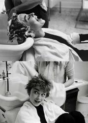 """Одри Хепберн на съемках фильма """"Сабрина"""", 1954 год"""