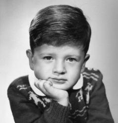 Марио Тестино в детстве
