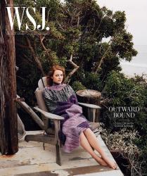 Эмма Стоун для WSJ, июль 2015