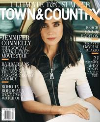 Дженнифер Коннелли для Town & Country, июнь-июль 2015