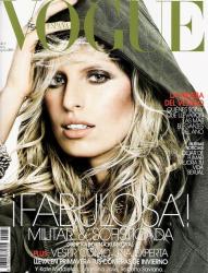 Каролина Куркова в испанском Vogue