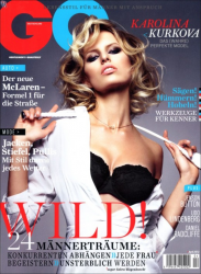 Каролина Куркова в GQ Germany