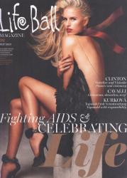 Каролина Куркова для майского LIFE BALL Magazine Austria (2013)