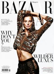 Дарья Вербова для Harper's Bazaar Germany, сентябрь 2013