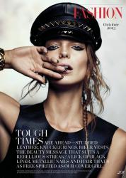 Дарья Вербова для журнала FASHION, октябрь 2013