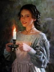 Натали Портман в стиле эпохи Ренессанса