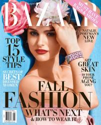 Натали Портман для Harper's Bazaar, август 2015