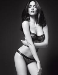 Меган Фокс  в рекламе Armani