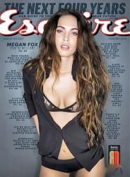 Меган Фокс на обложках журналов