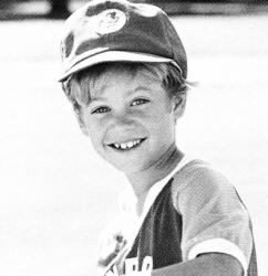 Пол Уокер в детстве