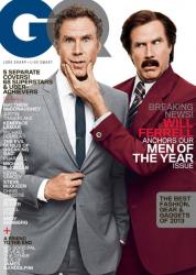Уилл Феррелл для журнала GQ, декабрь 2013