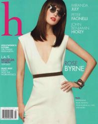 Роуз Бирн на обложках журналов