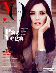 Паз Вега на обложках журналов