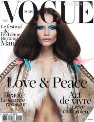 Наташа Поли - любимая модель Vogue