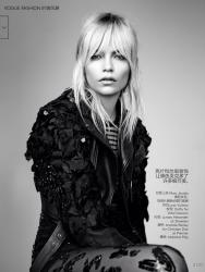 Наташа Поли для Vogue China, май 2014