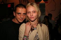 Саша Пивоварова с мужем