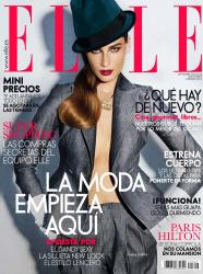Евгения Володина для журнала Elle, сентябрь 2013