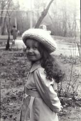 Ольга Орлова в детстве