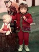 Татьяна Навка в детстве