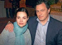 Екатерина Андреева с мужем Душаном Перовичем