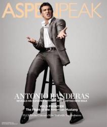 Антонио Бандерас на обложках журналов