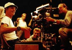 """Джонни Депп на съемках фильма """"Страх и ненависть в Лас-Вегасе"""", 1997 год"""