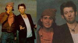 Джонни Депп и Шейн Макгоуэн, 1994 год