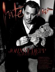 Джонни Депп для Interview Magazine, апрель 2014