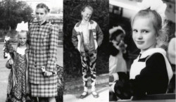 Анна Вьялицына в детстве