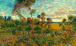 """Винсент Ван Гог. """"Закат в Монмажуре"""""""