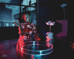 Миучча Прада в фотосессии Маркуса Пигготта и Мерту Аласа для LOVE Magazine осень-зима  2013-2014