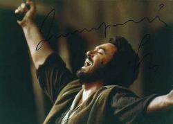 Автограф Лучано Паваротти