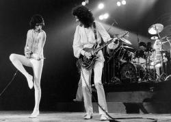 """Группа """"Queen"""" (Нью-Йорк, 1977 год)"""