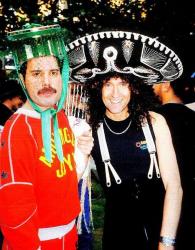 Фредди Меркьюри и Брайан Мэй, 1986 год