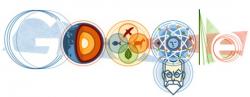Владимир Вернадский на праздничном логотипе Google
