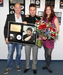 Сергей Лазарев получил золотой диск