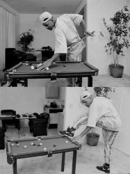 Юный Уилл Смит играет в мини-бильярд, 1992 год