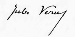 Автограф Жюль Верна